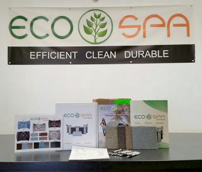 Ecospa marketing display